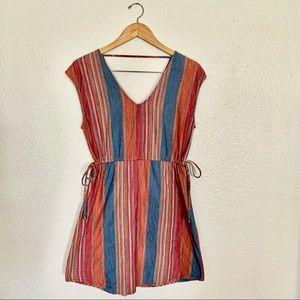 Universal thread multicolored mini summer dress